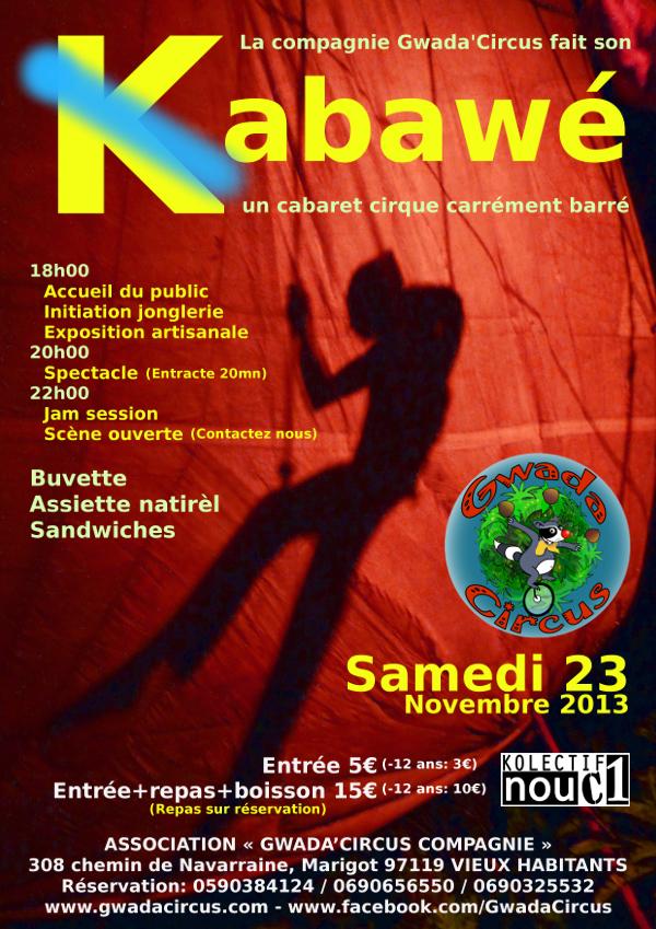 23 novembre 2013: Gwada Circus fait son Kabawé! dans evenement imageproxy