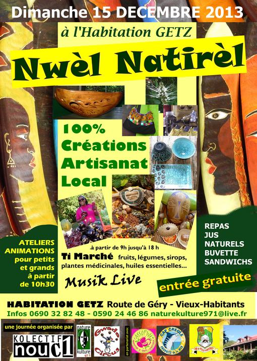 affiche nwel natirel 2013