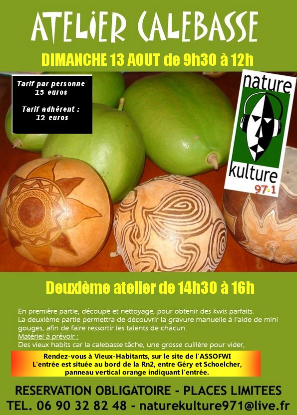 atelier calebasse aout